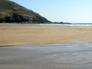 Porthluney Cove Beach