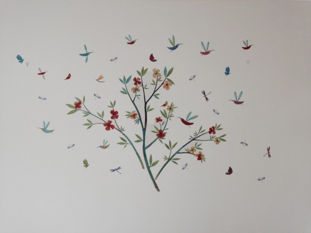 Flowers of Spring Wall Stickers by Djeco
