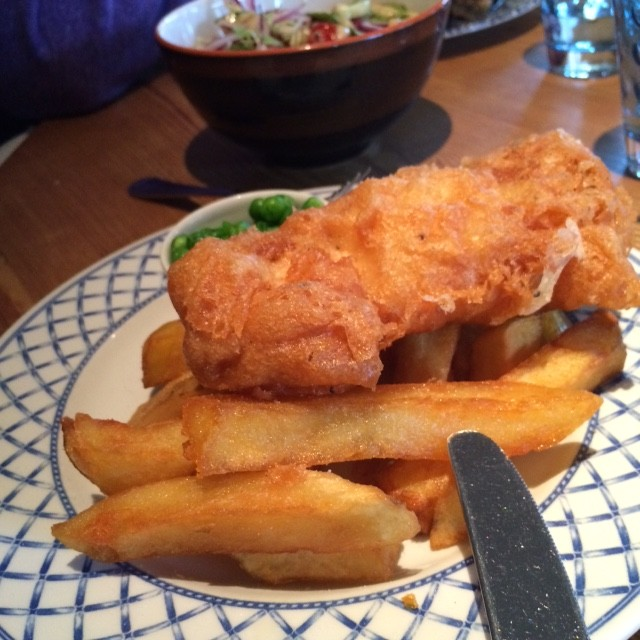 Children's fish and chips