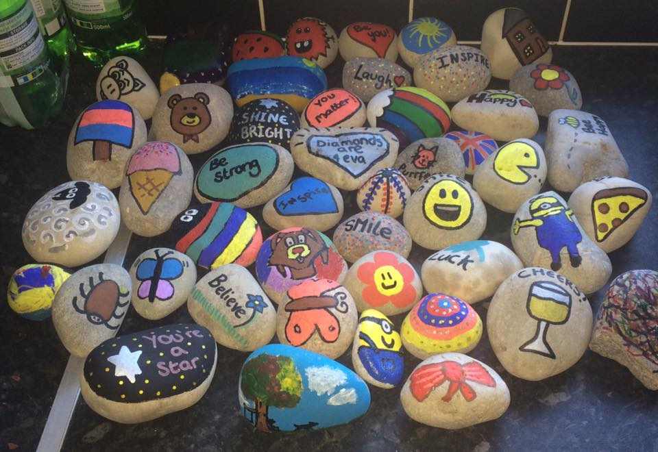 Painted stones craze... Banstead Rocks - The Parent Social